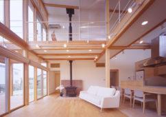 開放感のある三世代住宅