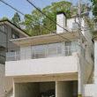 岡崎のコートハウス 外観 地下車庫