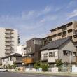 小さな敷地の立体都市住宅