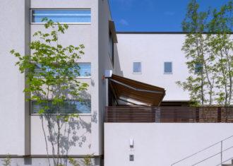 八事のコートハウスの竣工写真が出来ました