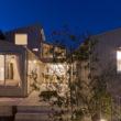 吉良町のコートハウス 外観夜景