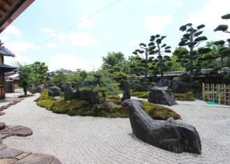 菰野 重森三玲作の旧横山家庭園