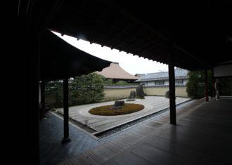 大徳寺 龍源院の建築と庭1