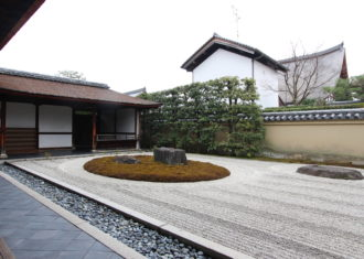 大徳寺 龍源院の建築と庭2