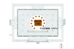 新薬師寺本堂の内部空間