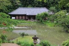 浄瑠璃寺のランドスケープデザイン