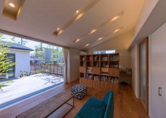 コートを生かした豊かな生活空間 その3 K駅のコートハウス3