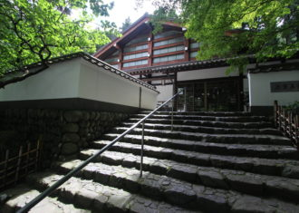 玉堂美術館の建築と庭園1