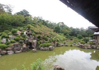 京都 智積院庭園