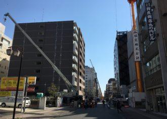 丸の内2丁目 わが事務所付近の建設ラッシュ