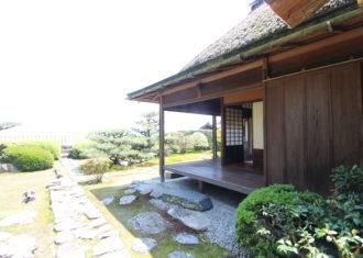 琵琶湖畔 天然図画亭居初邸庭園
