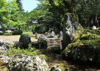 滋賀湖西 旧秀隣寺庭園