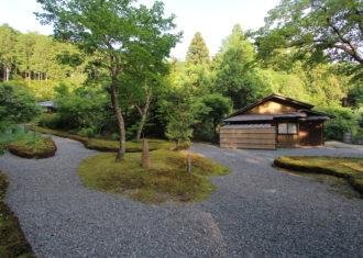近江孤篷庵の景観