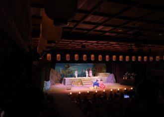 加子母明治座の歌舞伎公演