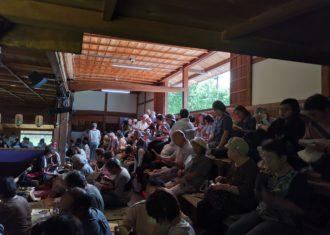 加子母の地歌舞伎 明治座 幕間空間の変貌