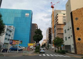 丸の内2丁目 いまマンション建設ラッシュで地域があつく