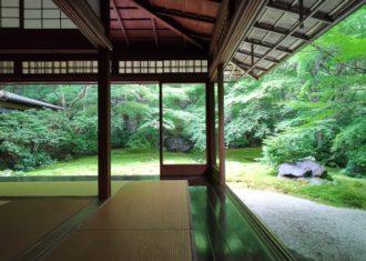 京都八瀬 瑠璃光院 庭を取り込む住まい