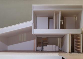 計画中の某邸 模型