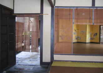 京都 無名舎(吉田邸)の玄関