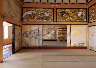 名古屋城 本丸御殿 上洛殿を見る