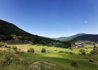 昨日は密をさけ 恵那 中津川の山村を訪問