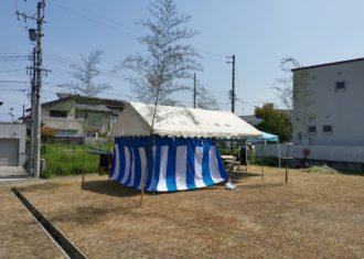 昨日 K邸の地鎮祭