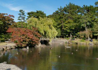 鶴舞公園の和風庭園