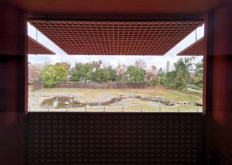 平城京 左京三条二坊宮跡庭園