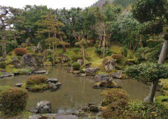 長浜 赤田氏草野谷館の庭園