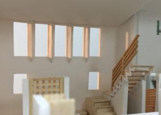R19沿いの家 設計時のこだわり 光の拡散装置