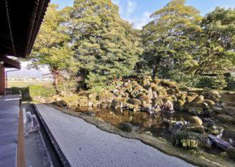 長浜 安楽寺の庭園